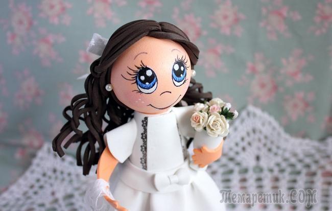 fullsize Как сделать куклы из фоамирана своими руками? Мастер класс Евгении Романовой и Татьяны Шмелевой