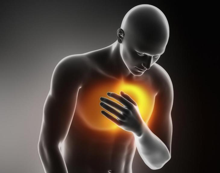 Колит слева в грудной клетке