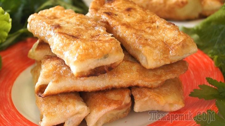 Сырная закуска за 5 минут, улетает за секунды!