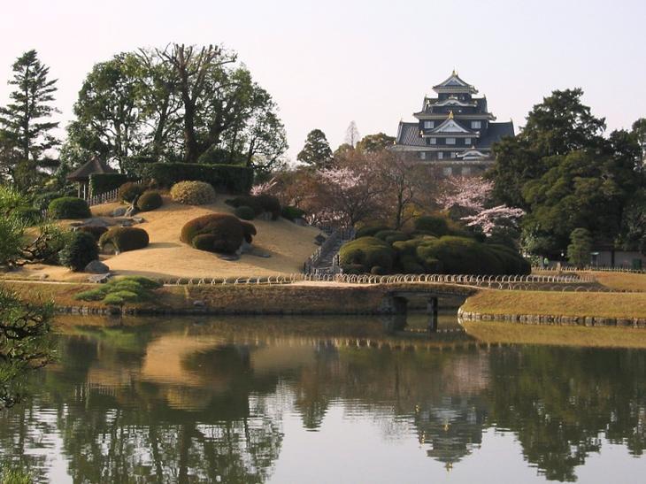Японский парк Кераку-эн