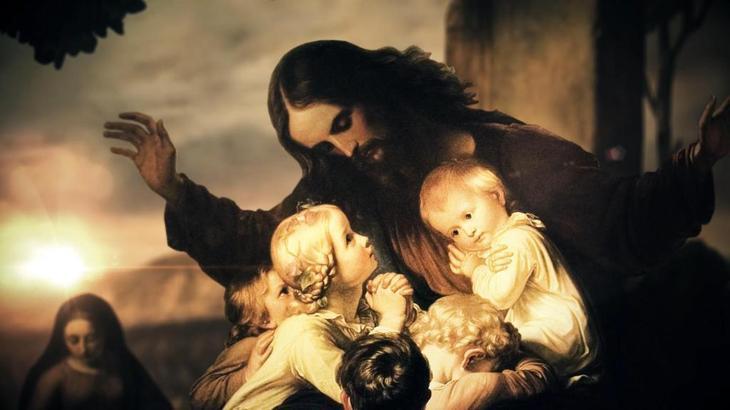 """Карина """"Иисус благословляет детей"""""""