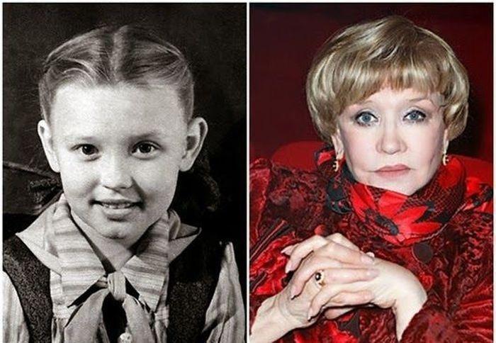 Легендарные советские актрисы в детстве