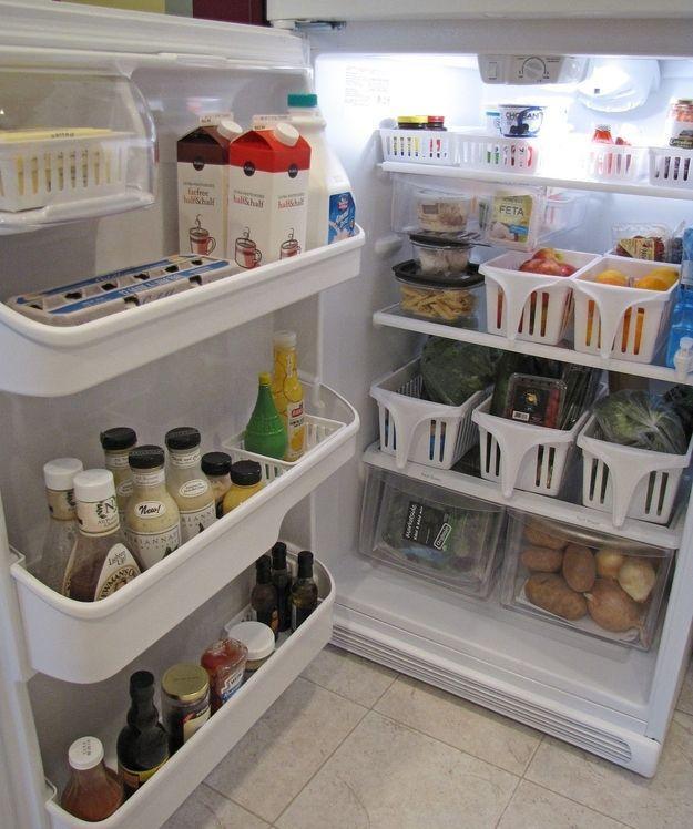24 гениальных лайфхака для идеально чистого холодильника