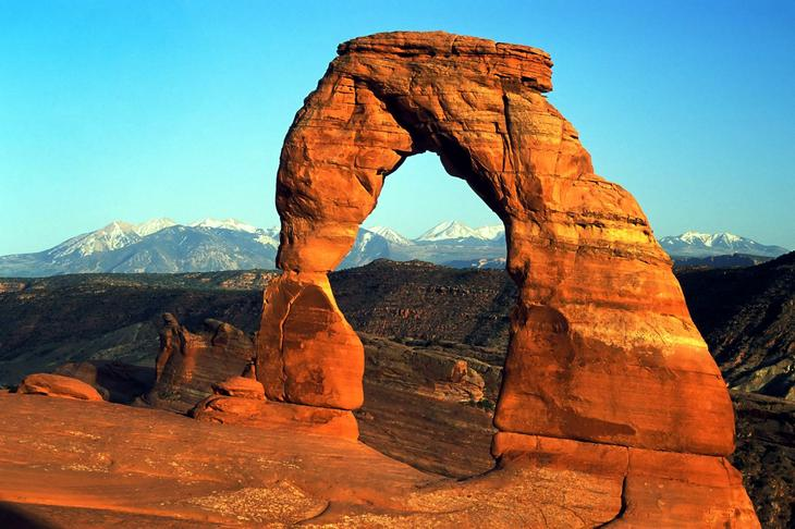 Изысканная арка США. Создано самой природой. Невероятные природные арки. Фото с сайта NewPix.ru