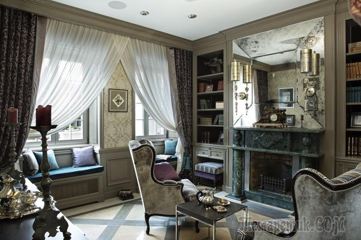 Частный дом с французскими элементами