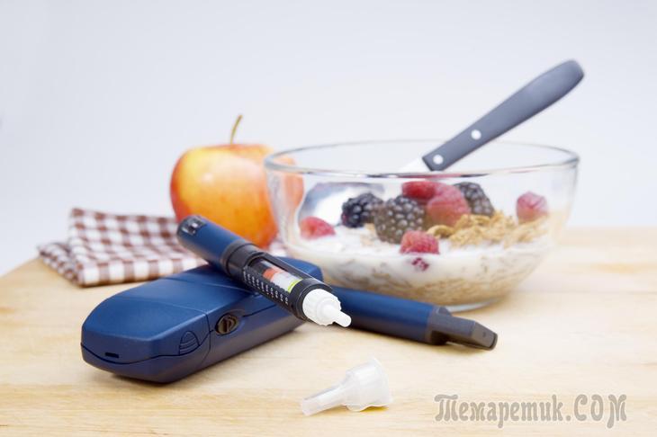 Диета при повышенном сахаре в крови. Варианты меню