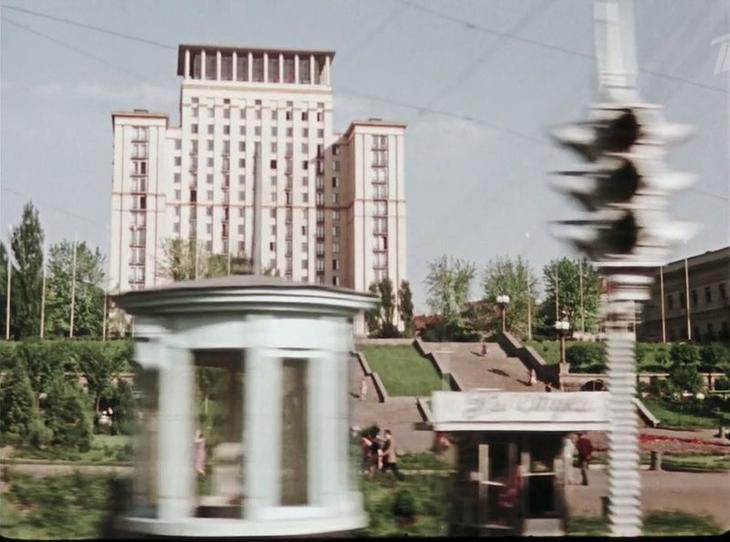 """Гостиница """"Москва"""" (сейчас она называется """"Украiна"""") СССР, кино, королева бензокалонки"""