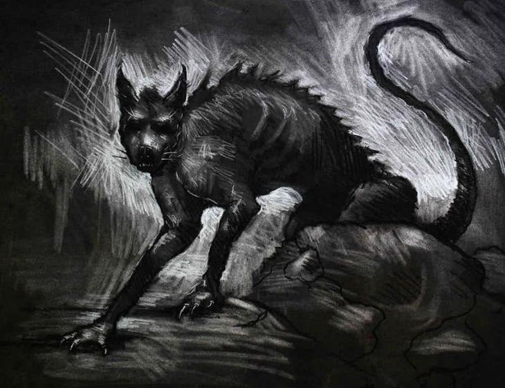 Легенда о чупакабре легенды, привидения, призраки, пыстыня