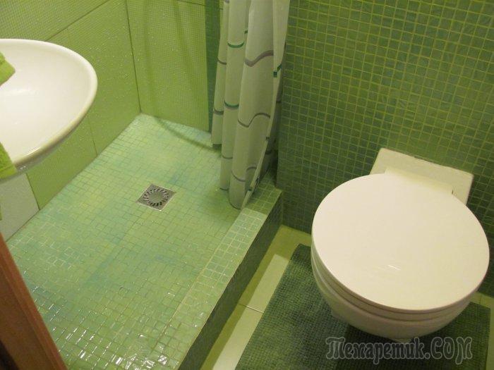 Идеальный ремонт санузла площадью 2.25 кв.м. Личный опыт