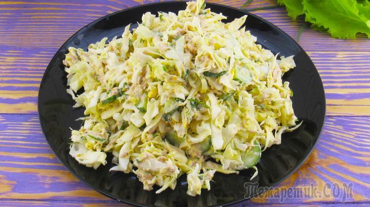Этот салат из капусты настолько вкусный, что его рецепт должен быть у каждой хозяйки.