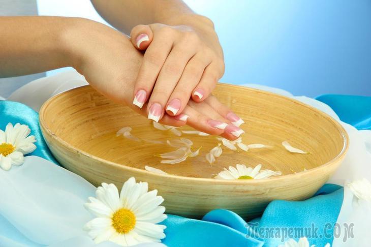 Укрепляющие ванночки для ногтей в домашних условиях их полезные свойства