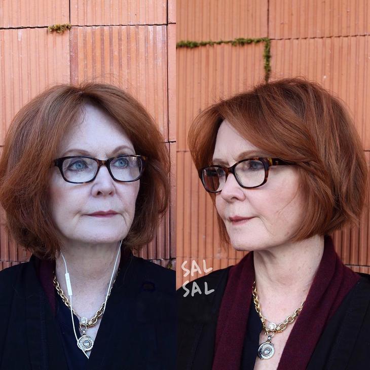 короткие стрижки для женщин после 50 фото 13