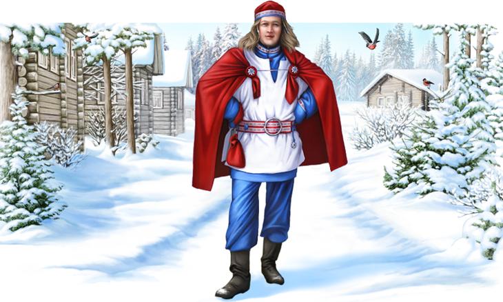 Паккайне(Карелия) дед мороз, новый год.рождество, санта клаус