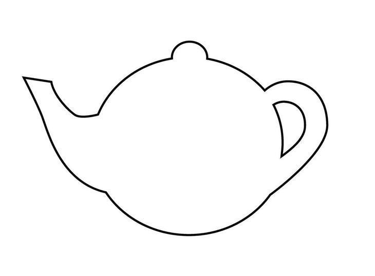 Открытка чайничек шаблон, поздравления марта