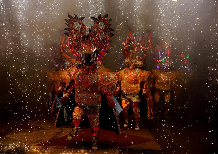 Карнавал в Оруро, Боливия loverme