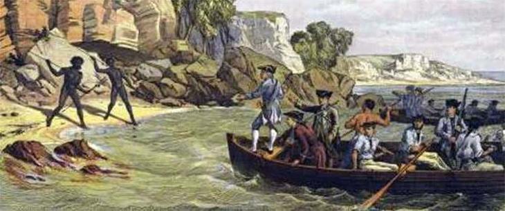 10. Первое знакомство с коренными австралийцами австралия, история, колонизация, факт