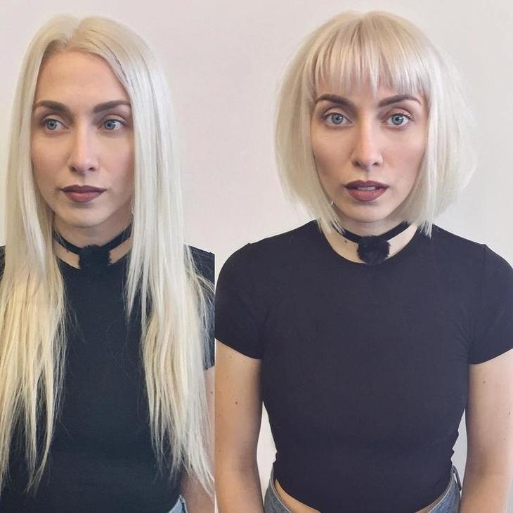 35 людей до и после стрижки, которые решились на озорную причёску и не прогадали