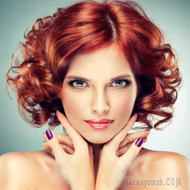 Способы завивки коротких волос