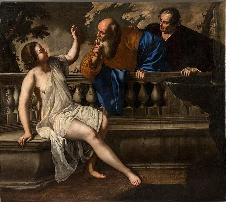 «Сусанна и старцы» (1652)