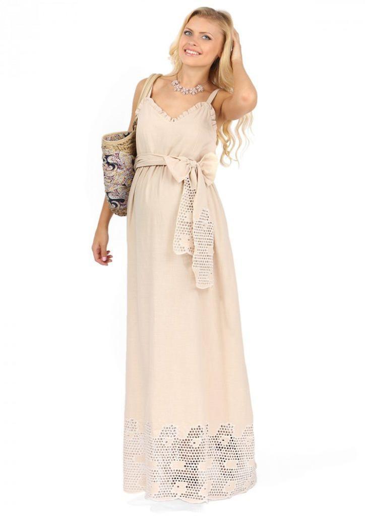 Шикарные платья и сарафаны из льна