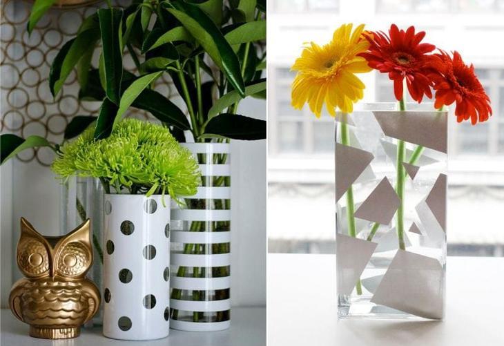 Идеи для росписи стеклянных ваз