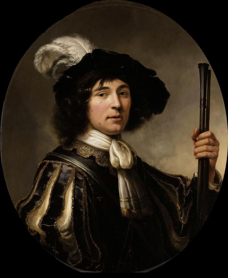 Портрет офицера -- 1640-60, 82х70, Гос музей Амстердам