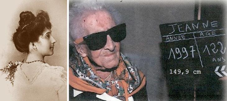 Старейшая из когда-либо живших на Земле людей — Жанна Кальман