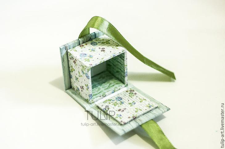 Мастер-класс: как создать подарочную коробочку для кольца, фото № 19