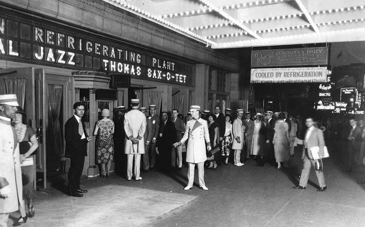 Кинотеатр «Риволи», 1925 год. жара, история, кондиционер