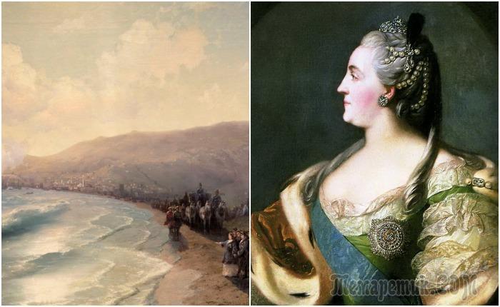 Как императрица Екатерина II путешествовала по Крыму: Правда и вымысел про Таврический вояж