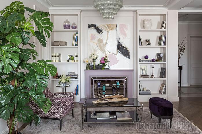 Квартира в стиле современная классика – вдохновляющий проект  дизайнера Тины Гуревич