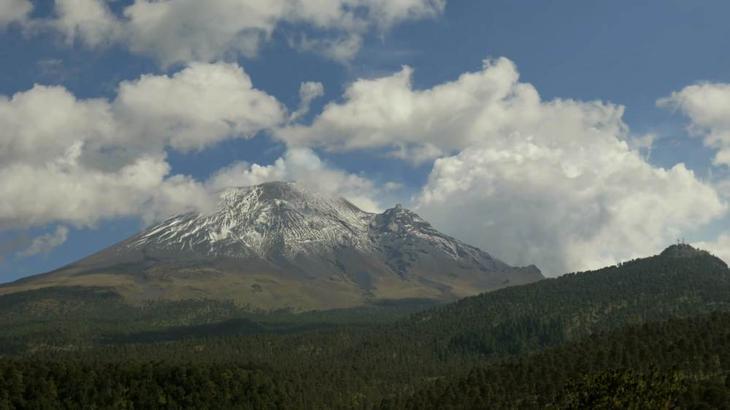 Вулкан Попокатепетль - Мексика