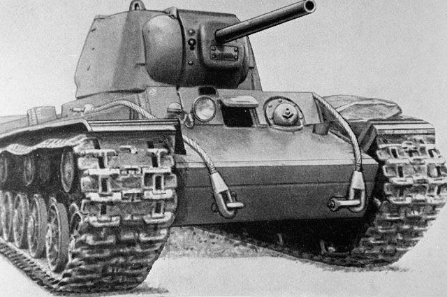 Крепость по имени «КВ». Как танкист Коновалов остановил немецкую армию
