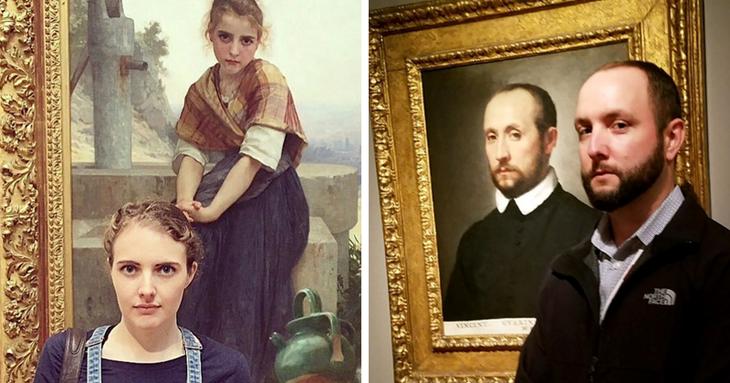 Люди, которые нашли своих двойников на картинах двойники, живопись, загадочно, интересно, картины, пблизнец с картины, персонажи, сходство