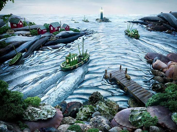 Рыбное море