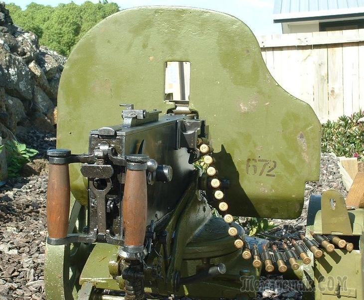 Мнение испытателя Малимона А.А. о пулемете Максим