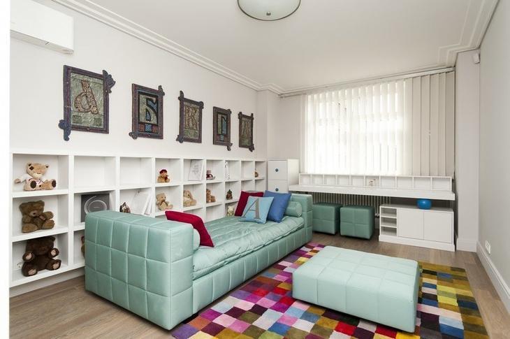Фотография: Детская в стиле Современный, Квартира, Дома и квартиры, Москва – фото на InMyRoom.ru