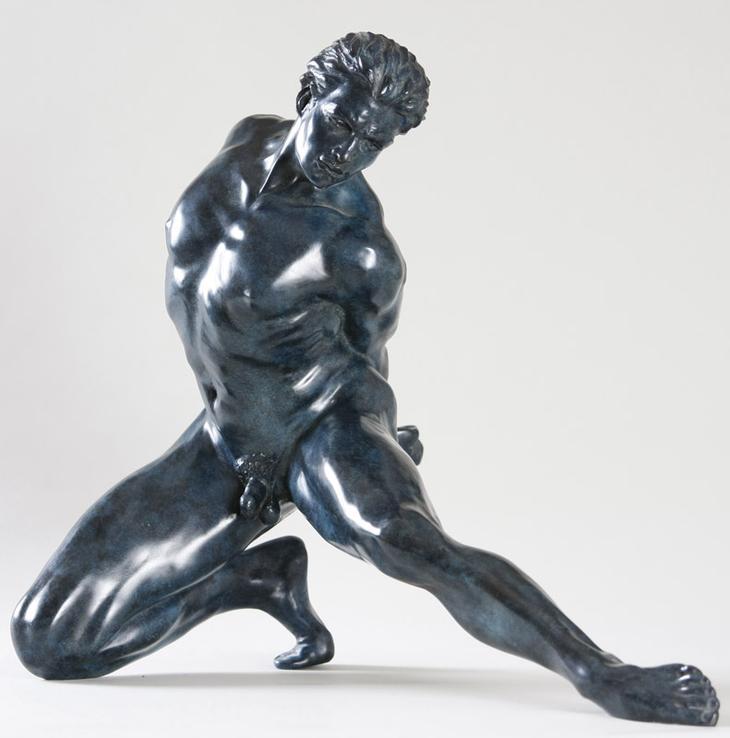 Yves Pires - Sculptures : Le prisonnier