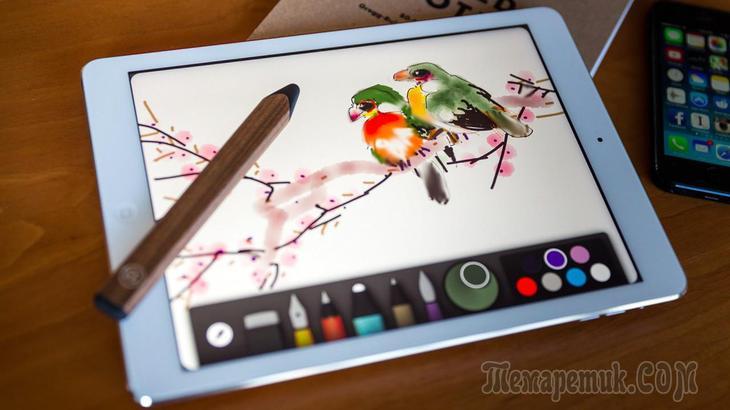 Обзор бесплатных программ для рисования