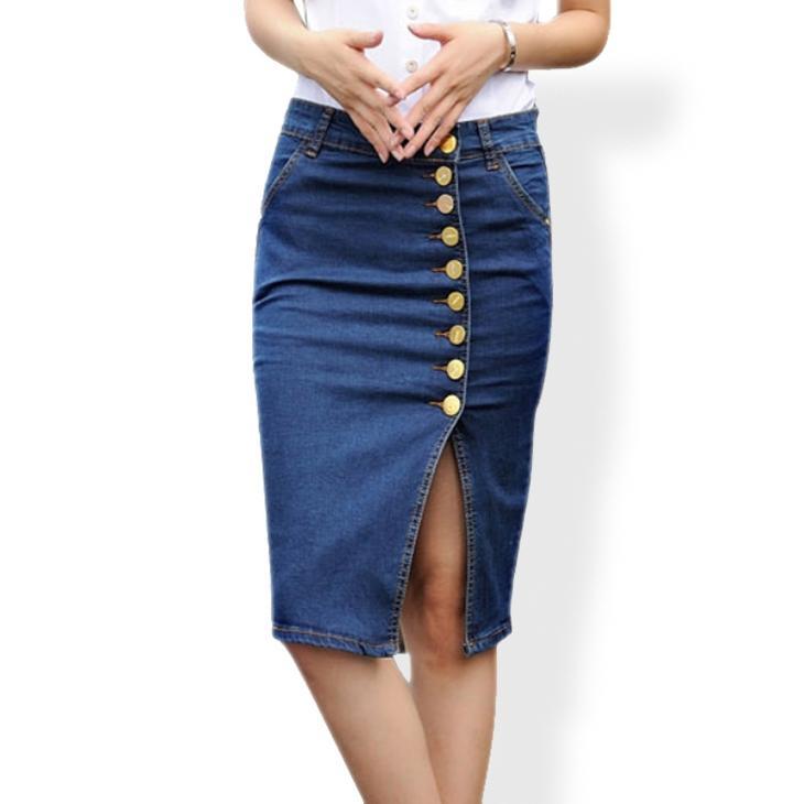 Сшить юбку карандаш из старых джинсов