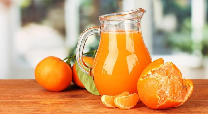Мандариновый сок - описание продукта на Gastronom.ru