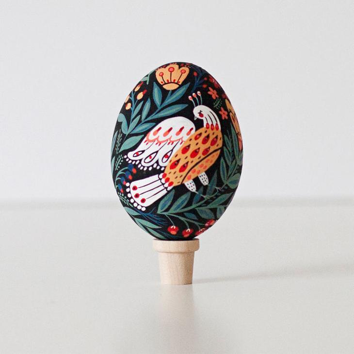 Пасхальные яйца фольклорные мотивы от художницы из Узбекистана Динары Мирталиповой, фото № 23