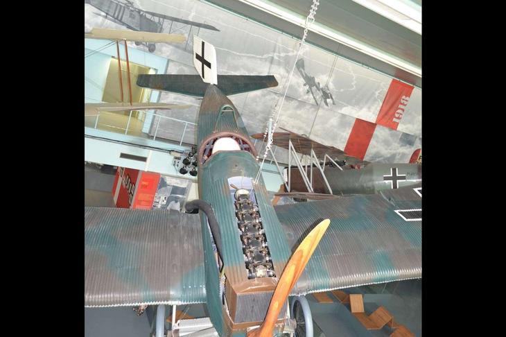 В самом конце I мировой войны в Германии был создан истребитель Юнкерс D I