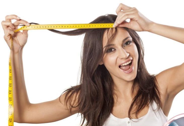 Измерение длины волос