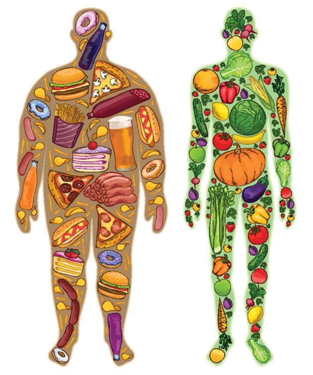 Устраняем причины лишнего веса