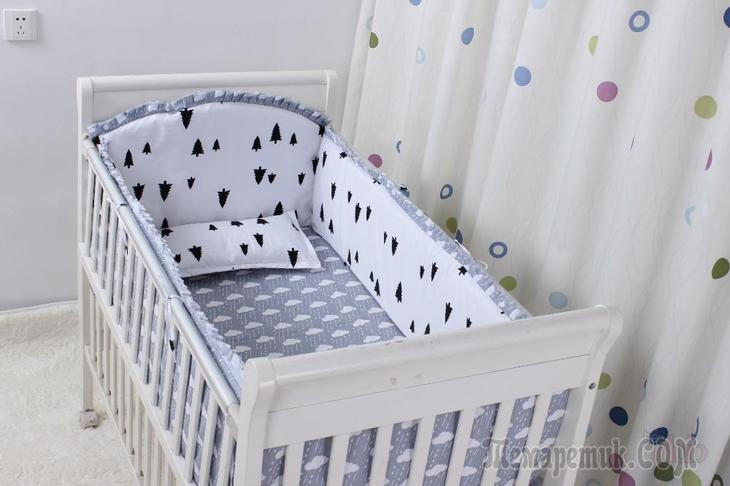 fullsize Как сшить бортики в кроватку для новорожденных своими руками