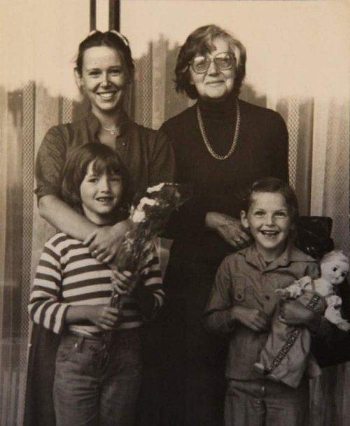 Семейные фото известных советских актёров