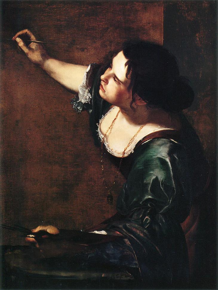 «Автопортрет в виде аллегории Живописи» (1630-е)
