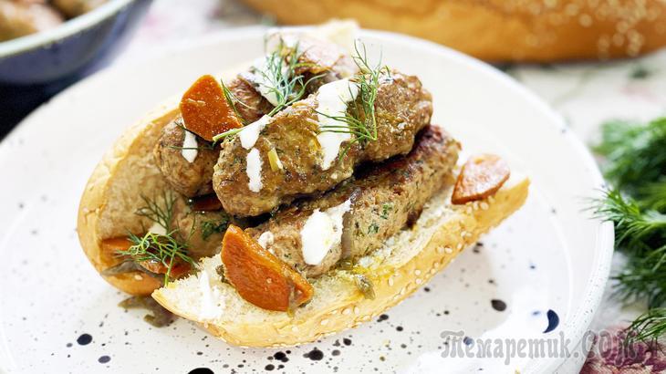 Надоели привычные котлеты? Блюдо из фарша - вкусные колбаски Чевапчичи по-сербски