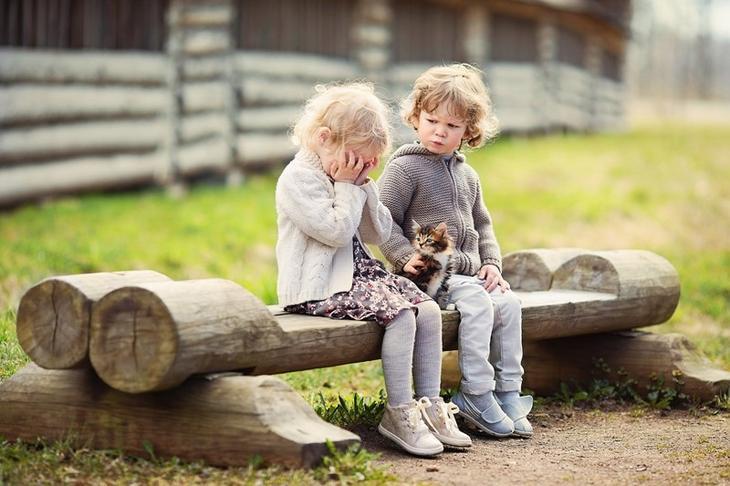 Фотографии детей от Елены Алгазиной